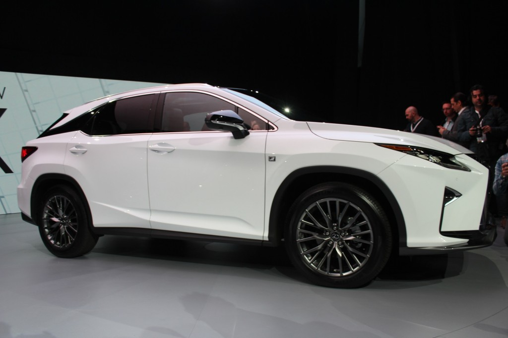 2016 Rx 350 Sport Ny Auto Show Autos Post