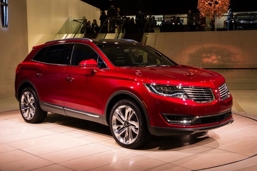 2016 Lincoln MKX Video