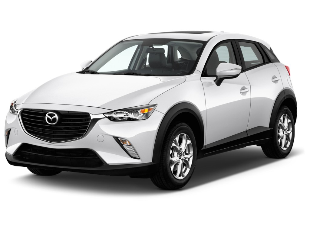 image 2016 mazda cx 3 awd 4 door touring angular front. Black Bedroom Furniture Sets. Home Design Ideas