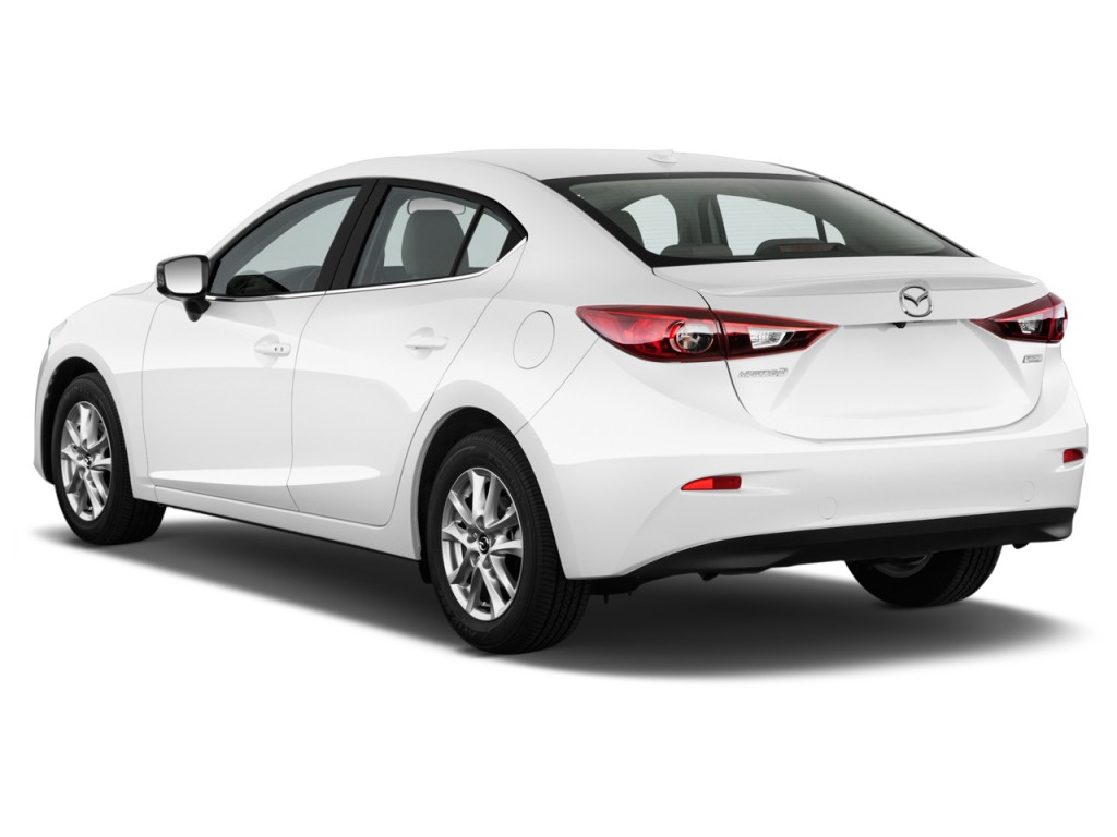 Image 2016 Mazda Mazda3 4 Door Sedan Auto I Touring Angular Rear Exterior View Size 1024 X