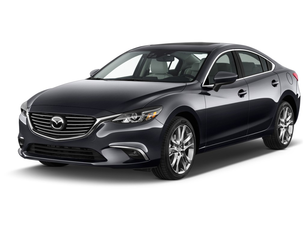 Image 2016 Mazda Mazda6 4 Door Sedan Auto I Grand Touring Angular Front Exterior View Size