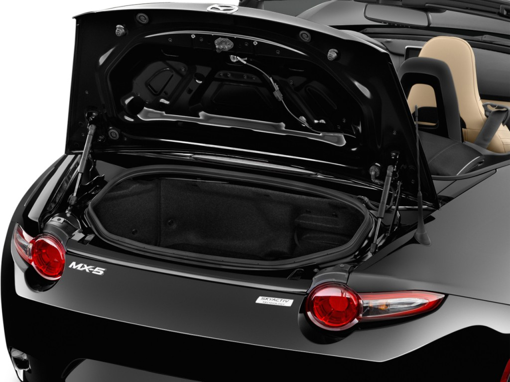 Image 2016 Mazda Mx 5 Miata 2 Door Convertible Auto Grand Touring Trunk Size 1024 X 768 Type