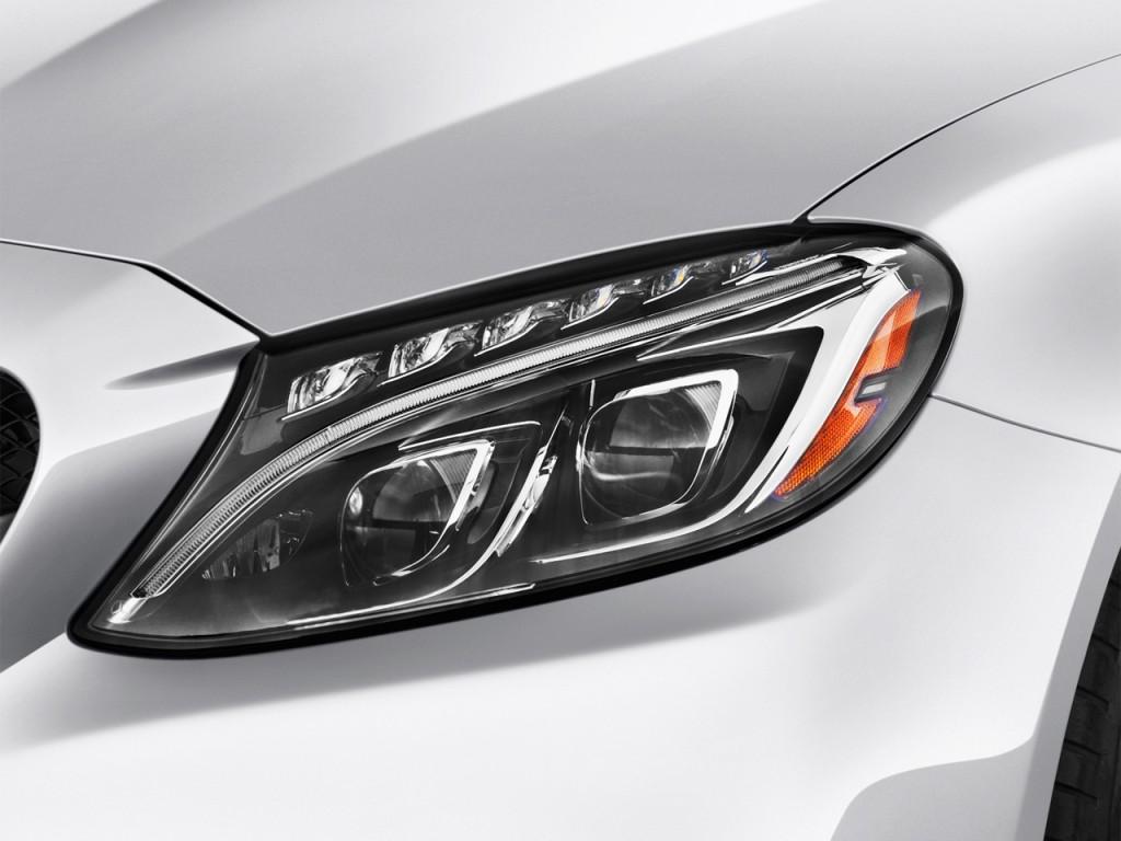Image 2016 mercedes benz c class 4 door sedan amg c63 s for Mercedes benz c300 headlights