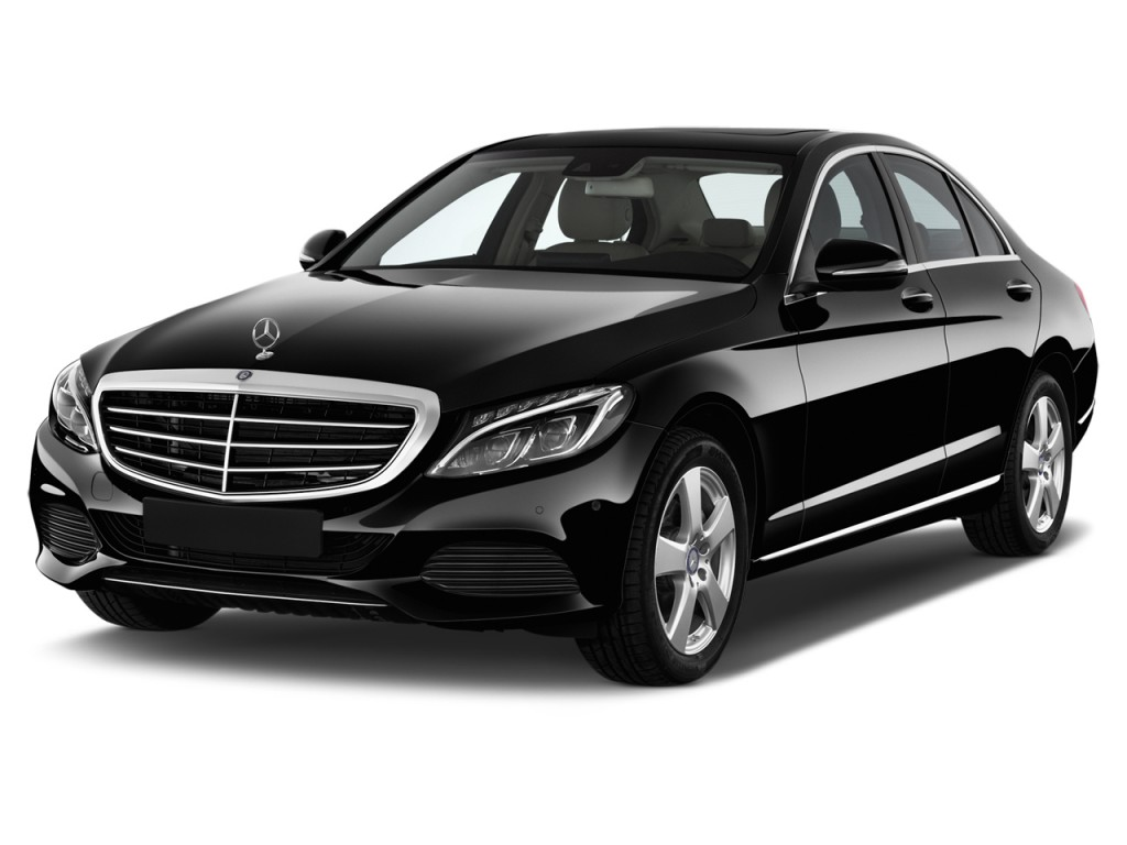 Image 2016 Mercedes Benz C Class 4 Door Sedan C300 Luxury Rwd Angular Front Exterior View Size