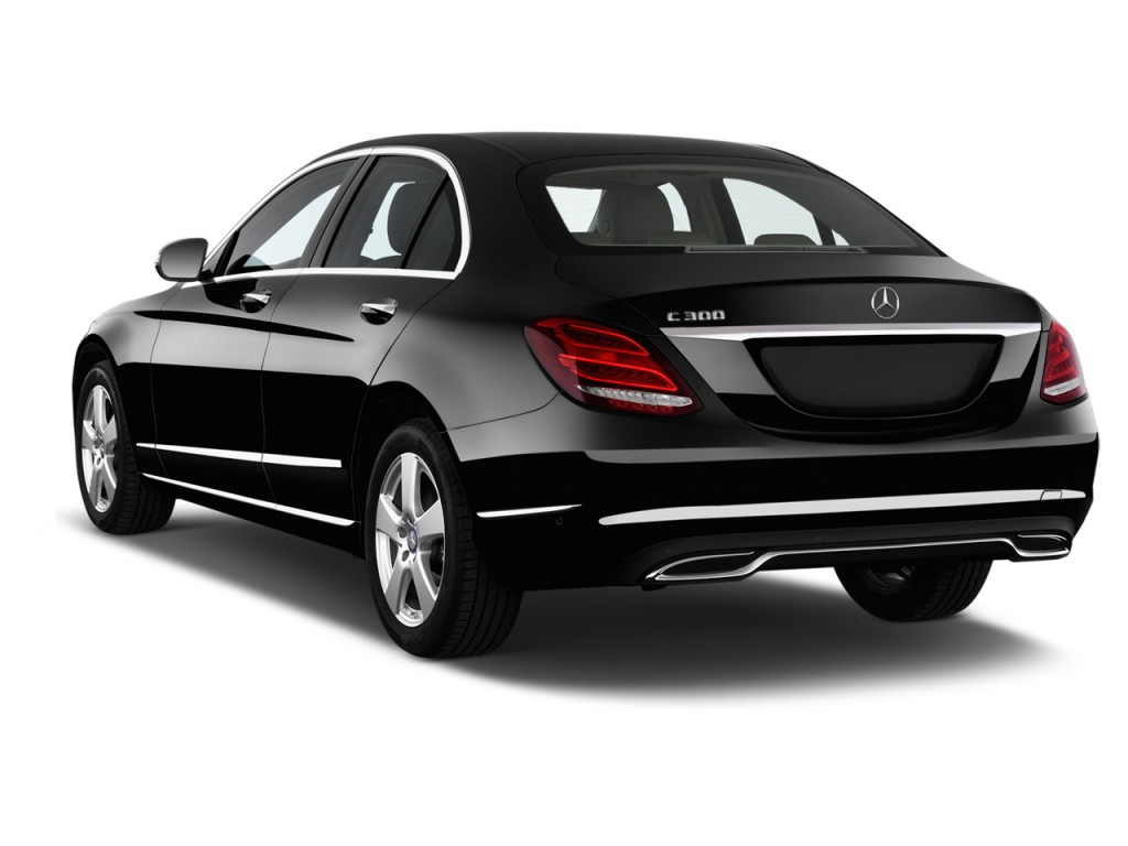 Image 2016 Mercedes Benz C Class 4 Door Sedan C300 Luxury Rwd Angular Rear Exterior View Size