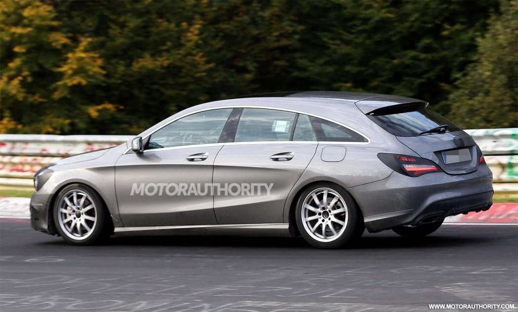 Image 2016 Mercedes Benz Cla Shooting Brake Facelift