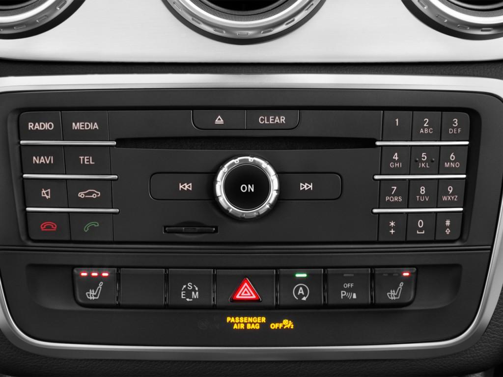 Image 2016 mercedes benz gla class 4matic 4 door amg for Mercedes benz car audio