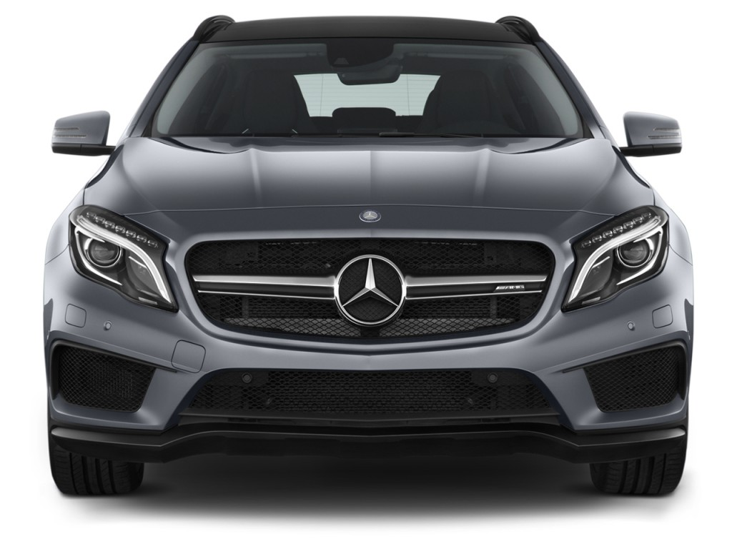 image 2016 mercedes benz gla class 4matic 4 door amg gla45 front exterior view size 1024 x. Black Bedroom Furniture Sets. Home Design Ideas