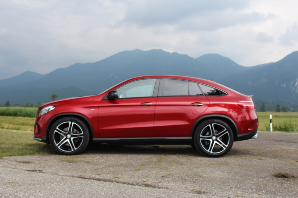 image 2016 mercedes benz gle450 amg 4matic coupe first