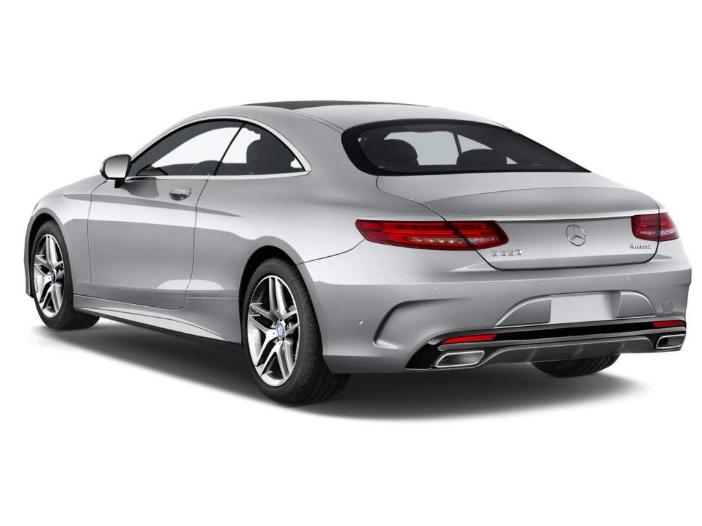 Image 2016 Mercedes Benz S Class 2 Door Coupe S550 4matic Angular Rear Exterior View Size