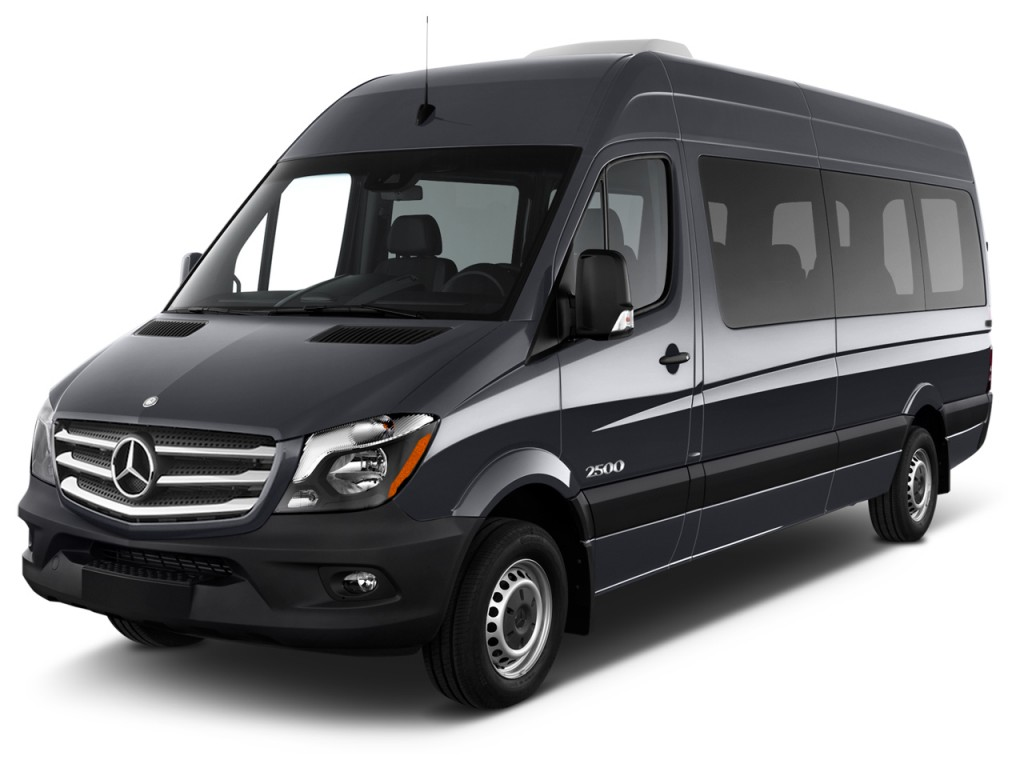 Image 2016 mercedes benz sprinter passenger vans rwd 2500 for Mercedes benz 7 passenger