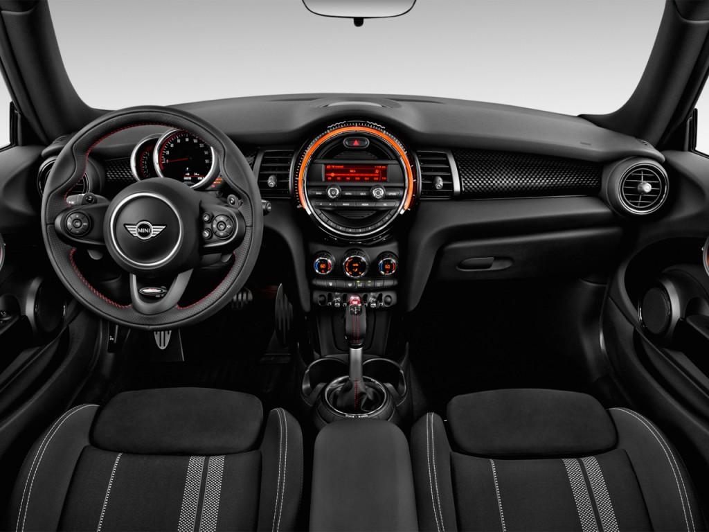 2017 Honda Civic Gas Mileage >> Image: 2016 MINI Cooper 2-door HB John Cooper Works Dashboard, size: 1024 x 768, type: gif ...