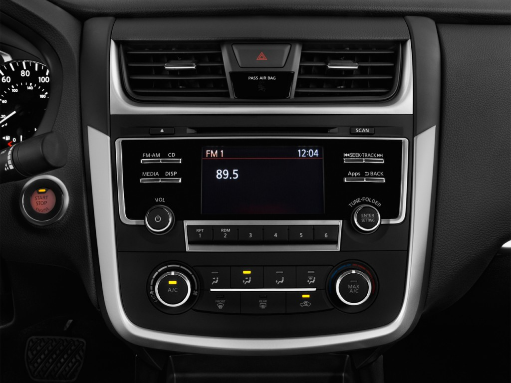 Image 2016 Nissan Altima 4 Door Sedan I4 2 5 S Audio