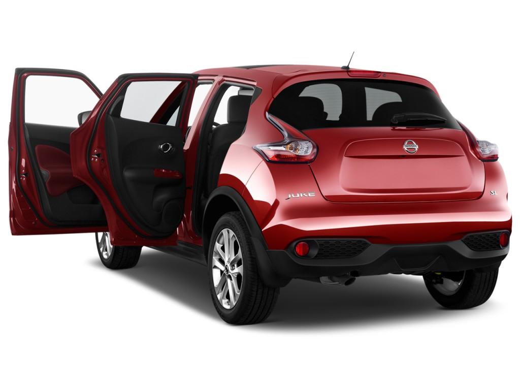Image 2016 Nissan Juke 5dr Wagon Cvt Sl Fwd Open Doors