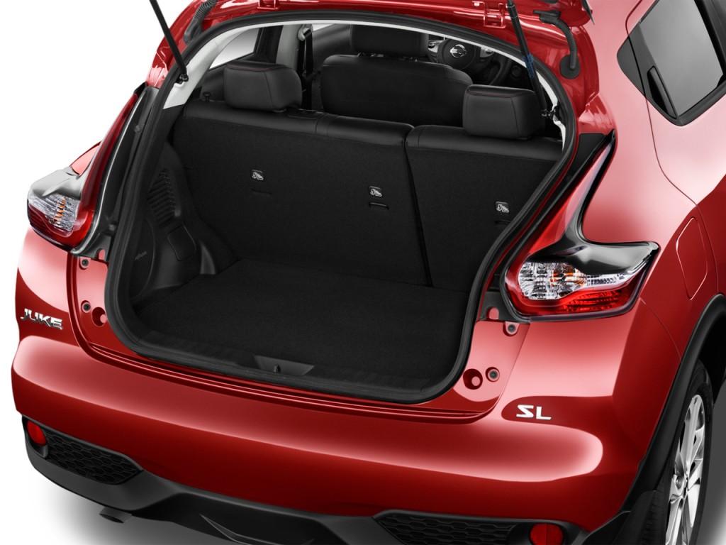Image 2016 Nissan Juke 5dr Wagon Cvt Sl Fwd Trunk Size