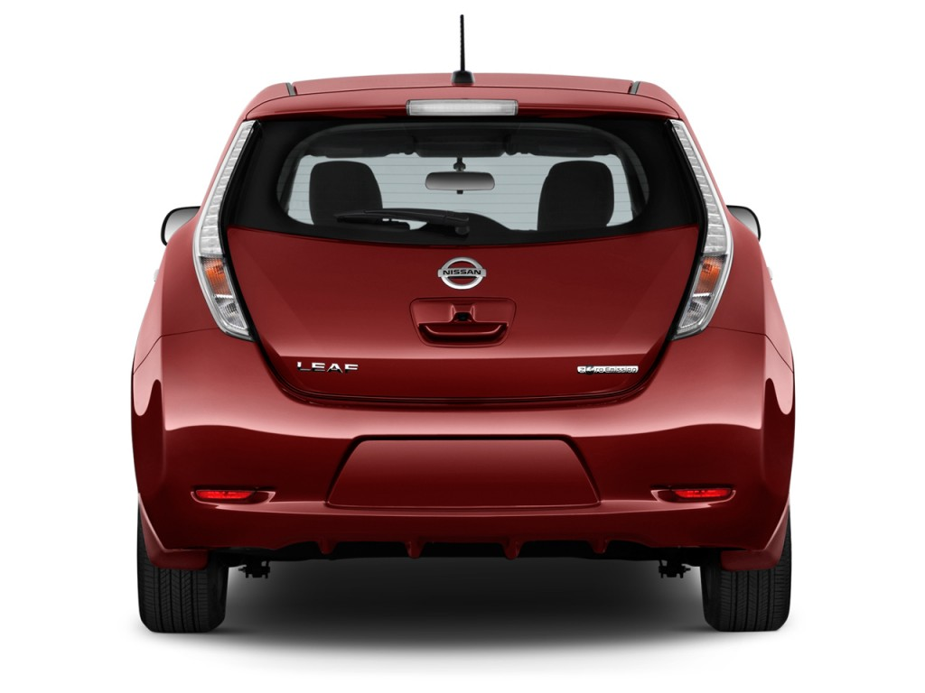 image 2016 nissan leaf 4 door hb s rear exterior view size 1024 x 768 type gif posted on. Black Bedroom Furniture Sets. Home Design Ideas