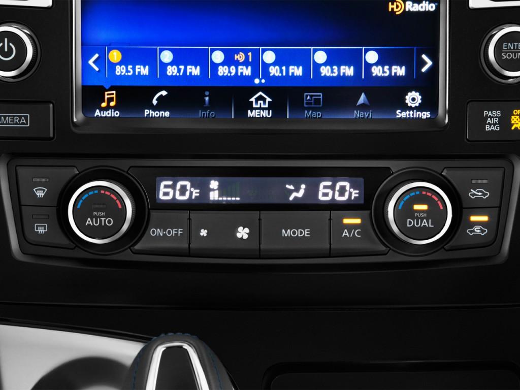 Temperature Controls 2016 Nissan Maxima 4 door Sedan 3.5 SR #012FCA