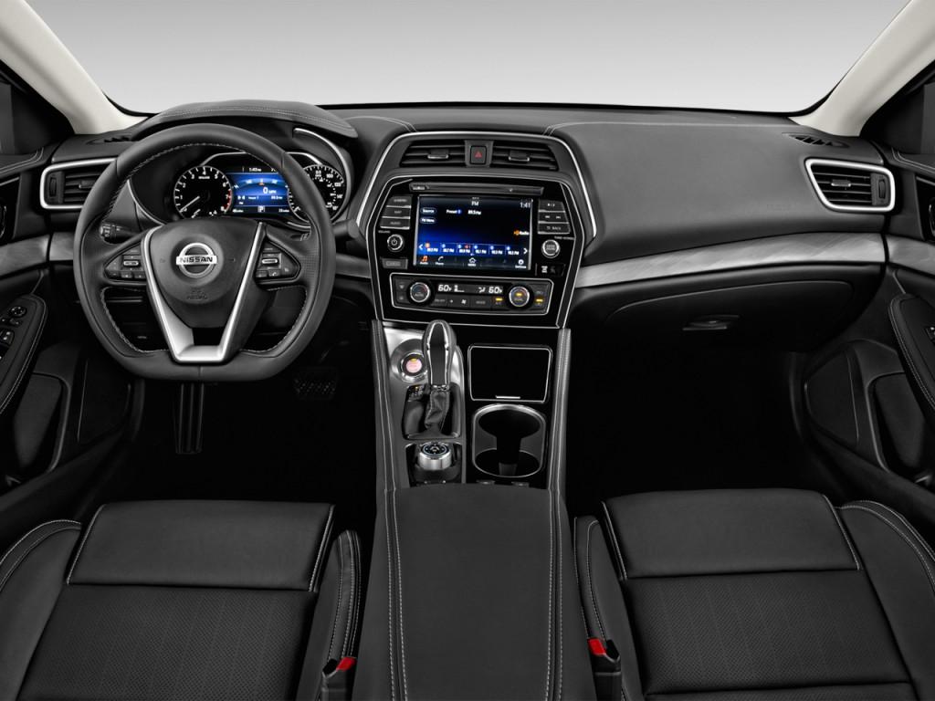 Image 2016 Nissan Maxima 4 Door Sedan 3 5 Sv Dashboard Size 1024 X 768 Type Gif Posted On