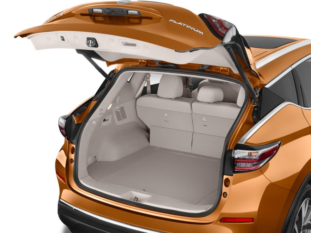 Image: 2016 Nissan Murano FWD 4-door Platinum Trunk, size ...