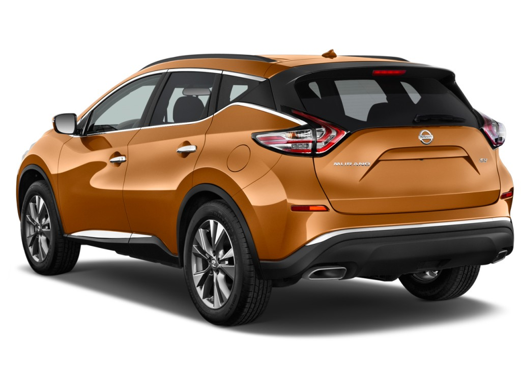 image 2016 nissan murano fwd 4 door sv angular rear exterior view size 1024 x 768 type gif