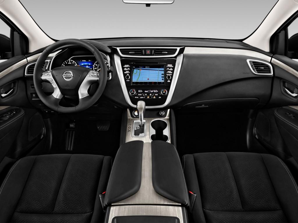 Image 2016 Nissan Murano Fwd 4 Door Sv Dashboard Size