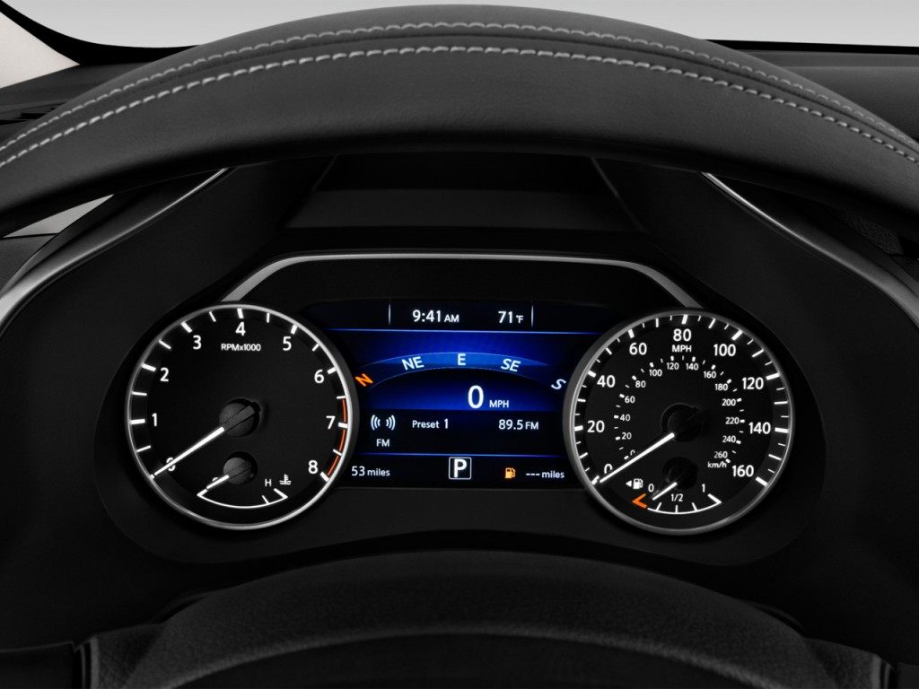 image 2016 nissan murano fwd 4 door sv instrument cluster. Black Bedroom Furniture Sets. Home Design Ideas