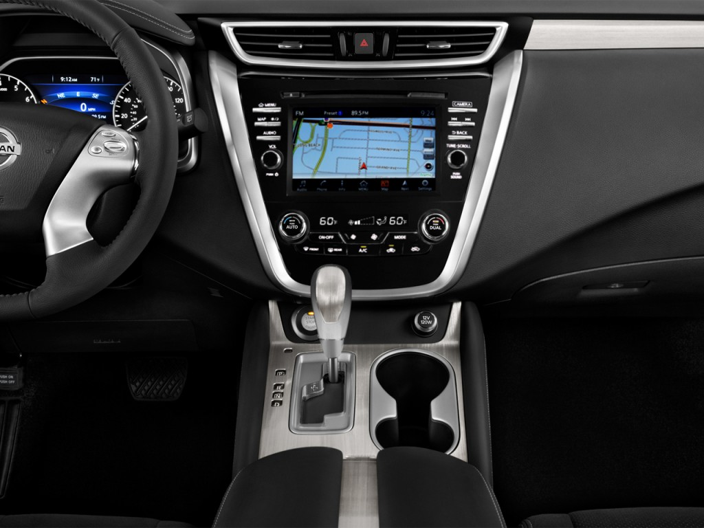 image 2016 nissan murano fwd 4 door sv instrument panel. Black Bedroom Furniture Sets. Home Design Ideas
