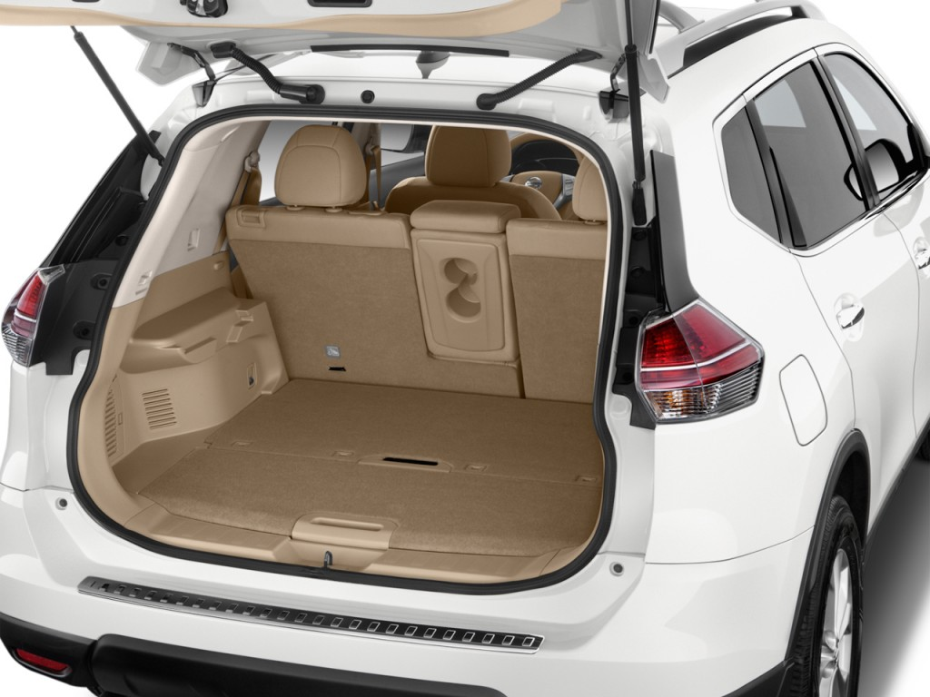 Image 2016 Nissan Rogue Fwd 4 Door Sv Trunk Size 1024 X 768 Type Gif Posted On November