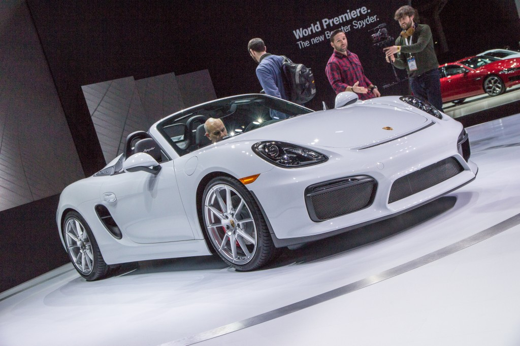 2016 porsche boxster spyder offers 375 horsepower top down fun live photos