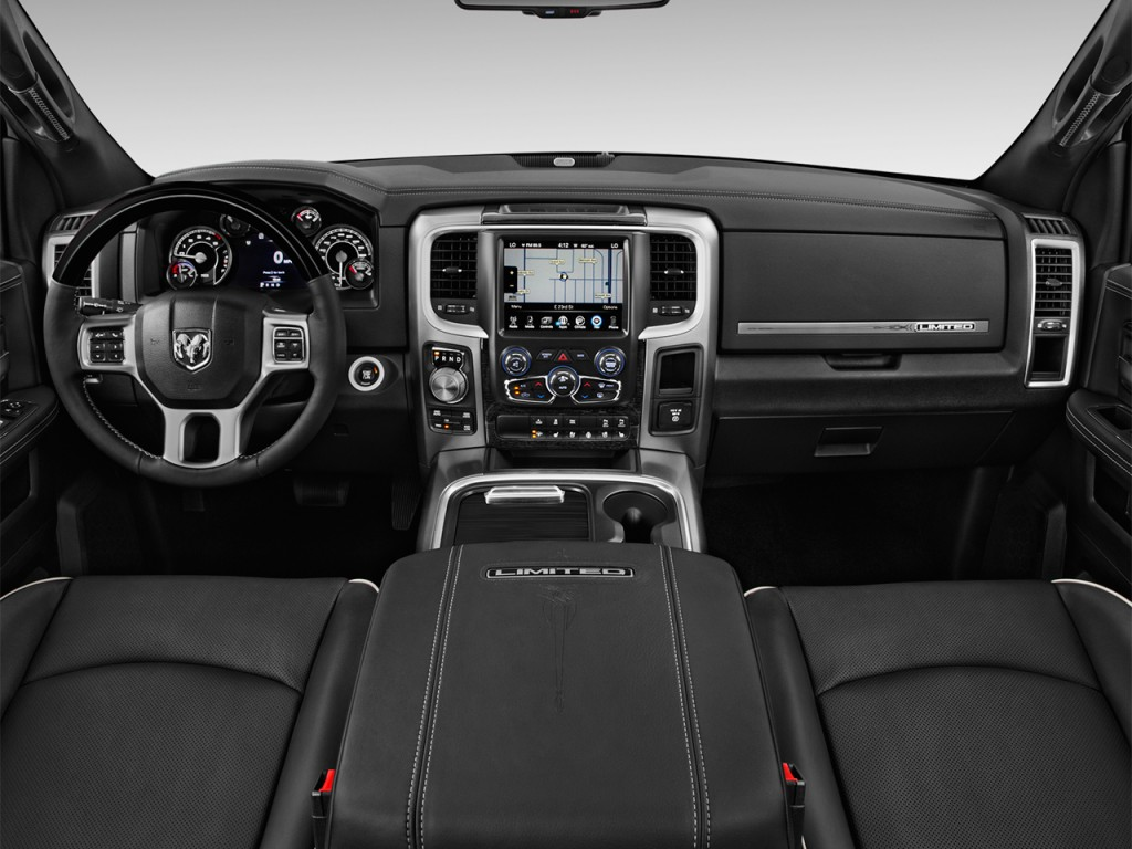 "Dodge Cargo Van 2016 >> Image: 2016 Ram 1500 4WD Crew Cab 140.5"" Longhorn Limited Dashboard, size: 1024 x 768, type: gif ..."