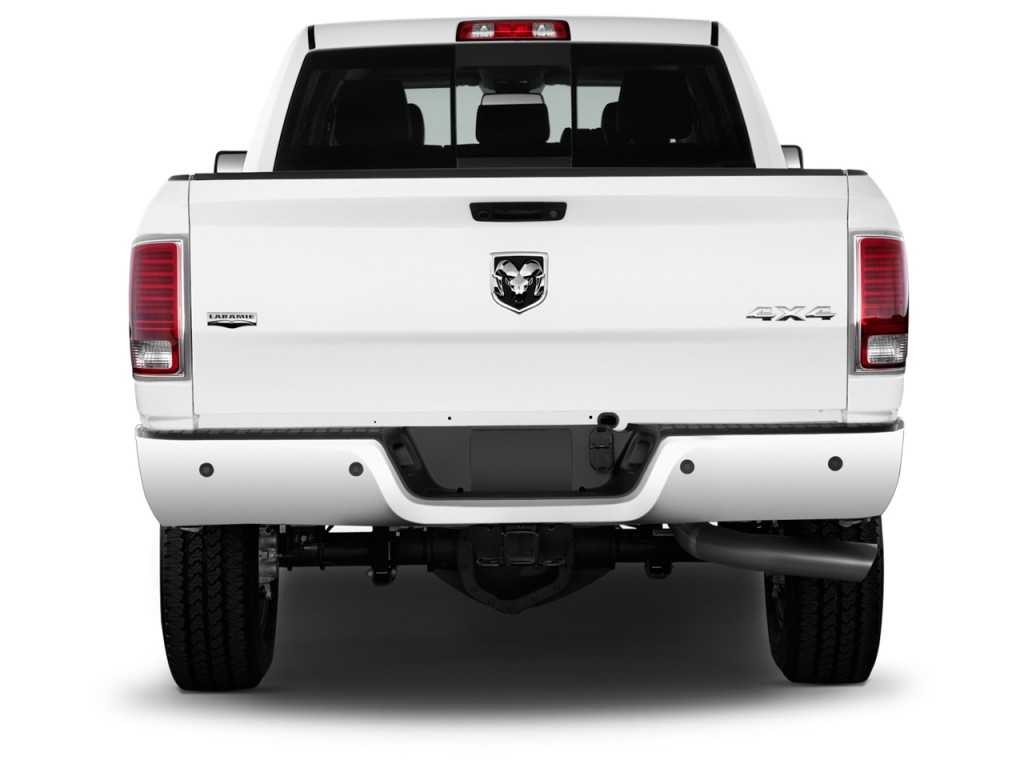 image 2016 ram 2500 2wd mega cab 160 5 laramie rear exterior view size 1024 x 768 type gif. Black Bedroom Furniture Sets. Home Design Ideas