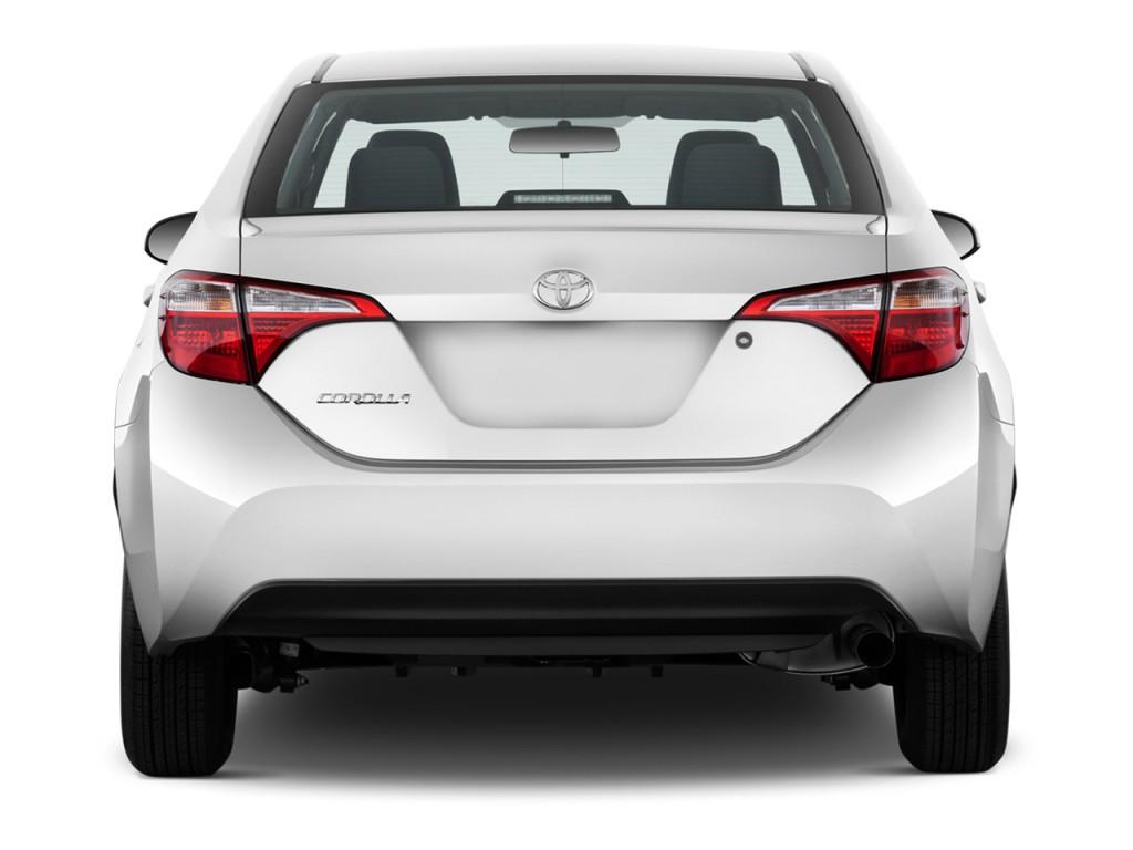 Image 2016 Toyota Corolla 4 Door Sedan Auto L Gs Rear