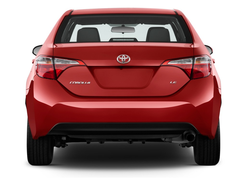 Image 2016 Toyota Corolla 4 Door Sedan Cvt Le Gs Rear