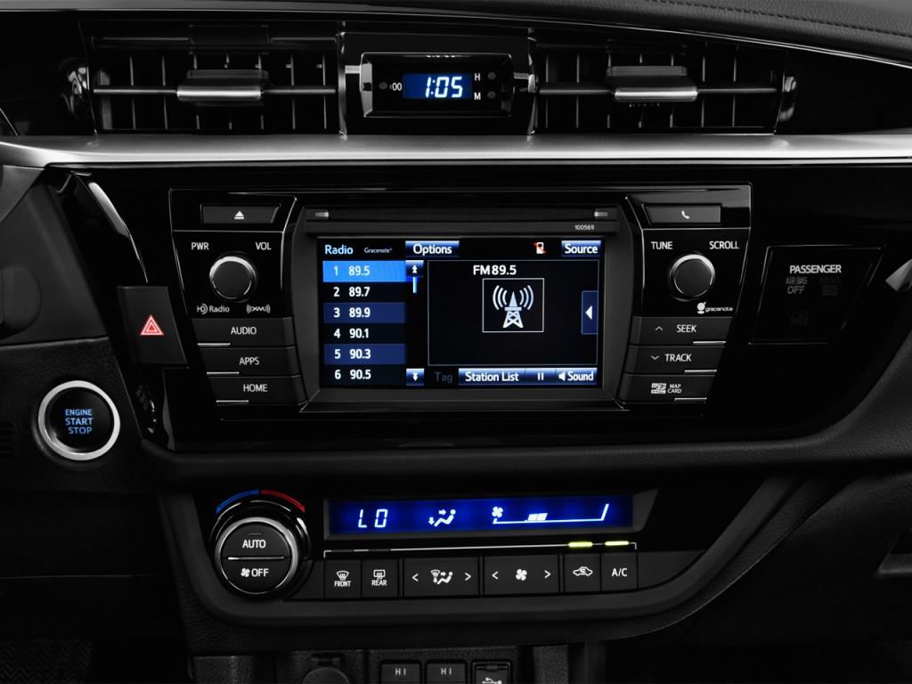 image 2016 toyota corolla 4 door sedan cvt s premium natl audio system si. Black Bedroom Furniture Sets. Home Design Ideas