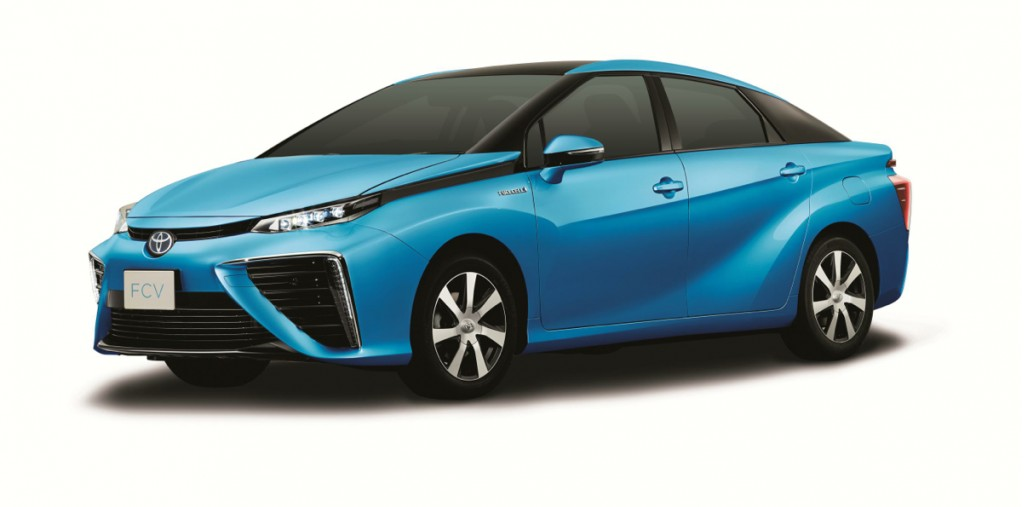 Toyota's Fuel Cell Vehicle Arrives In 2015, Priced From $69,000 In Japan: Video