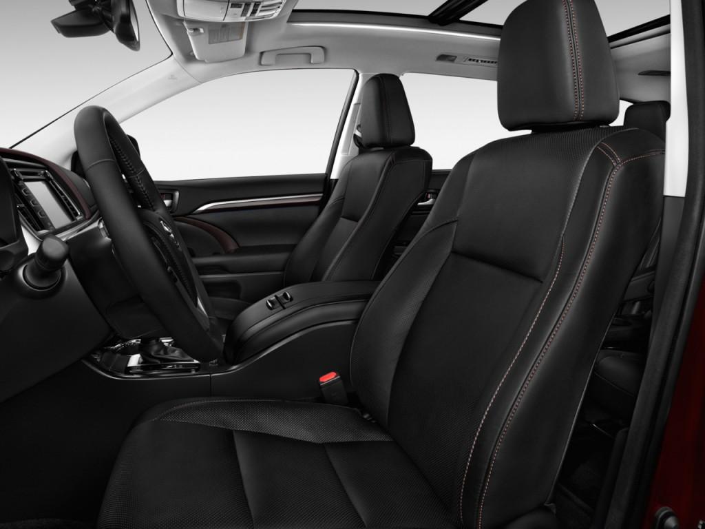 image 2016 toyota highlander fwd 4 door v6 limited platinum natl front seats size 1024 x. Black Bedroom Furniture Sets. Home Design Ideas