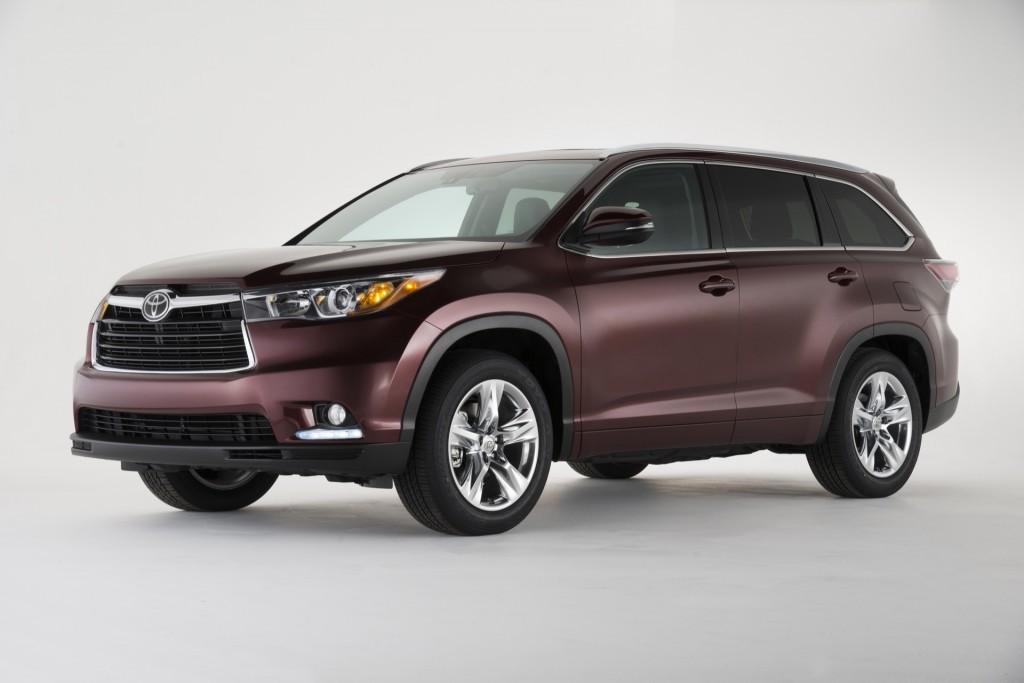 2016 Toyota Highlander recalled for brake fluid issue
