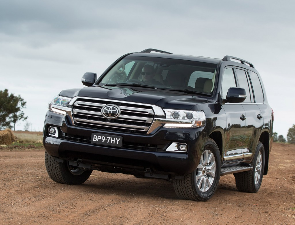Toyota land cruiser 2016 model