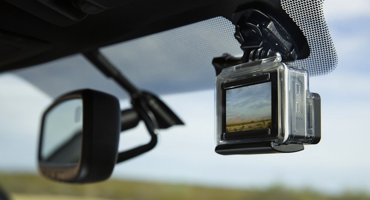 2016 Toyota Tacoma Comes With Gopro Mount Is This The