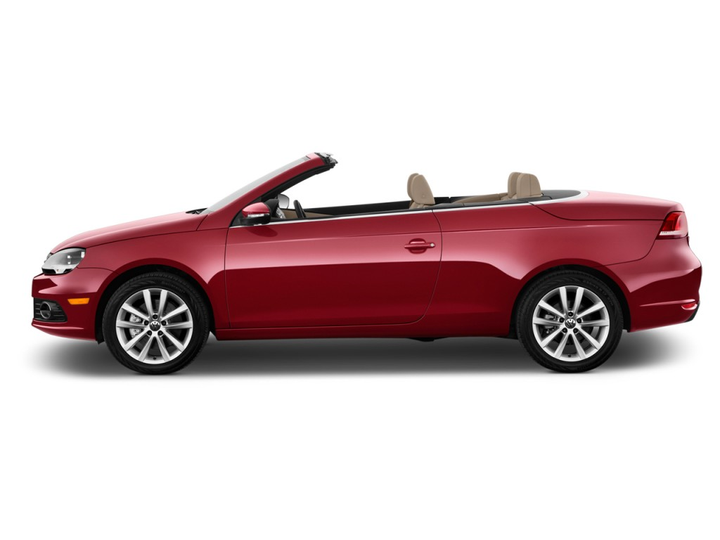 Image 2016 Volkswagen Eos 2 Door Convertible Komfort Side