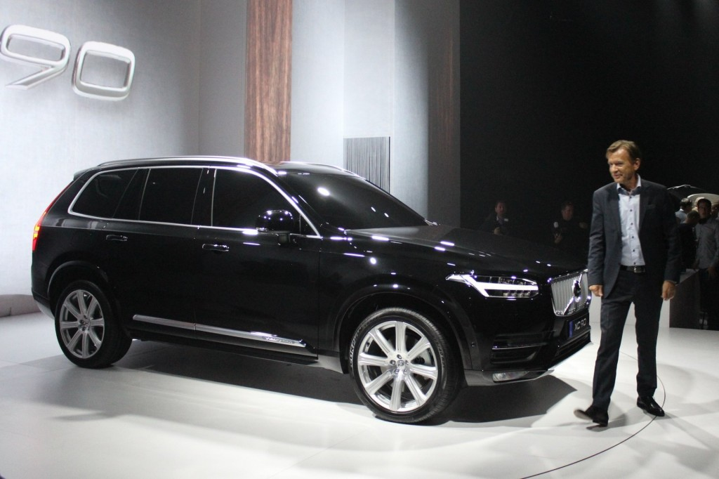 new car releases august 2014Image 2016 Volvo XC90  world premiere Stockholm Sweden