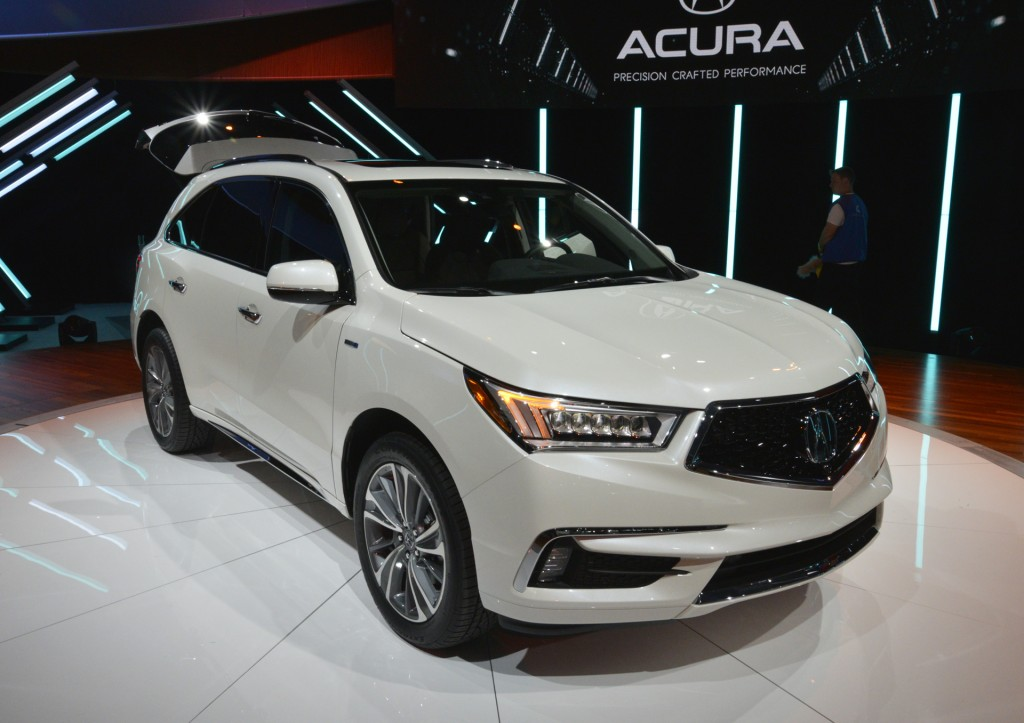 articles 2017 acura mdx preview 2017 acura mdx debuts with new look ...