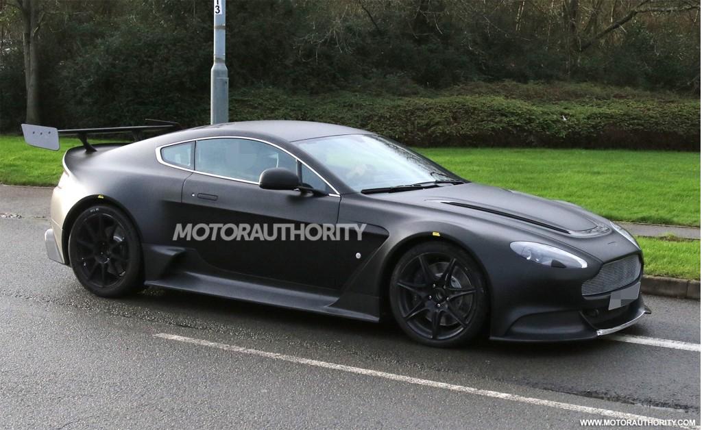 2017 Aston Martin Vantage Gt8 Spy Shots Image Via S ...