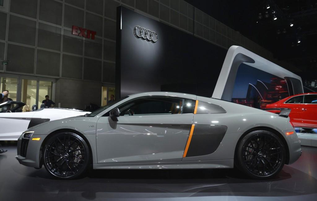 Image 2017 Audi R8 V10 Plus Exclusive Edition 2016 Los Angeles auto show size 1024 x 649