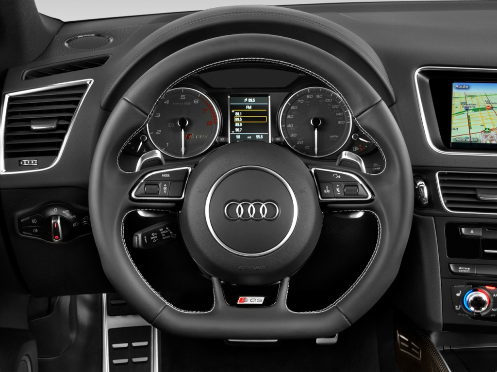 image 2017 audi sq5 3 0 tfsi premium plus steering wheel. Black Bedroom Furniture Sets. Home Design Ideas