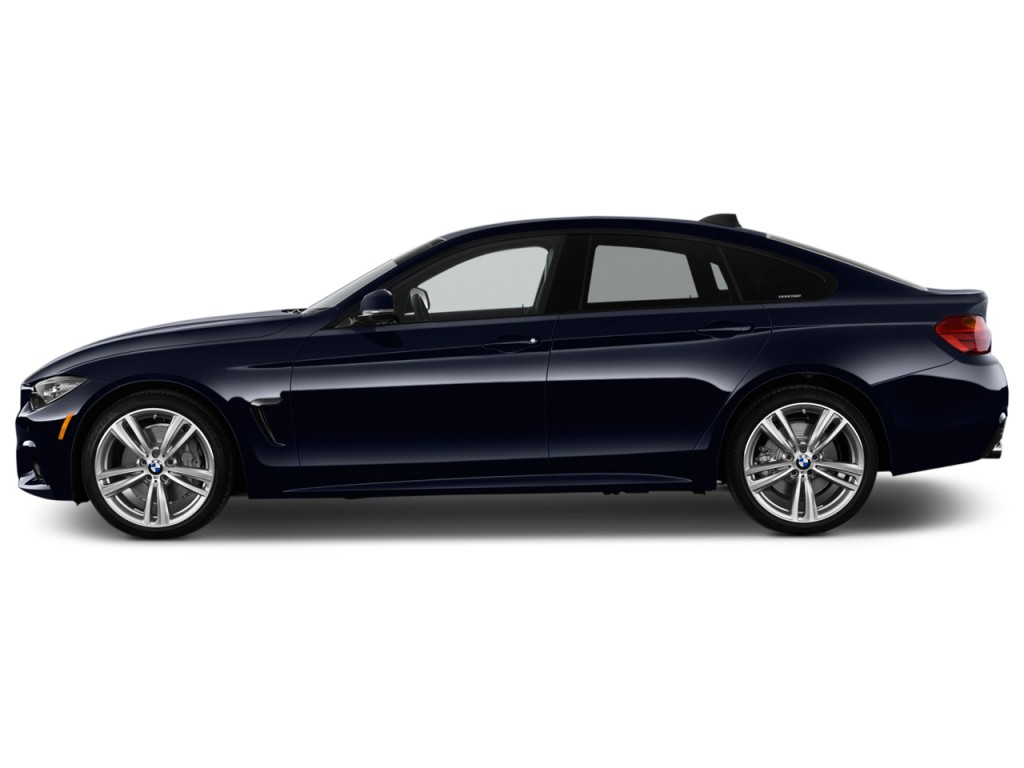 Image: 2017 BMW 4-Series 440i Gran Coupe Side Exterior View, size ...