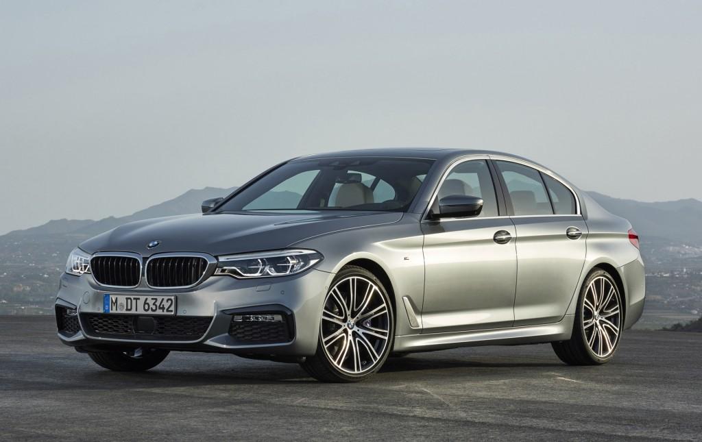 Tech-laden 2017 BMW 5-Series arrives, looks like mini-7