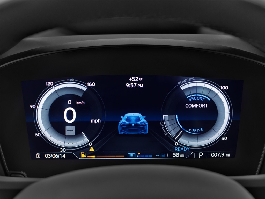 Used Bmw 6 Series >> Image: 2017 BMW i8 Coupe Instrument Cluster, size: 1024 x 768, type: gif, posted on: November 23 ...