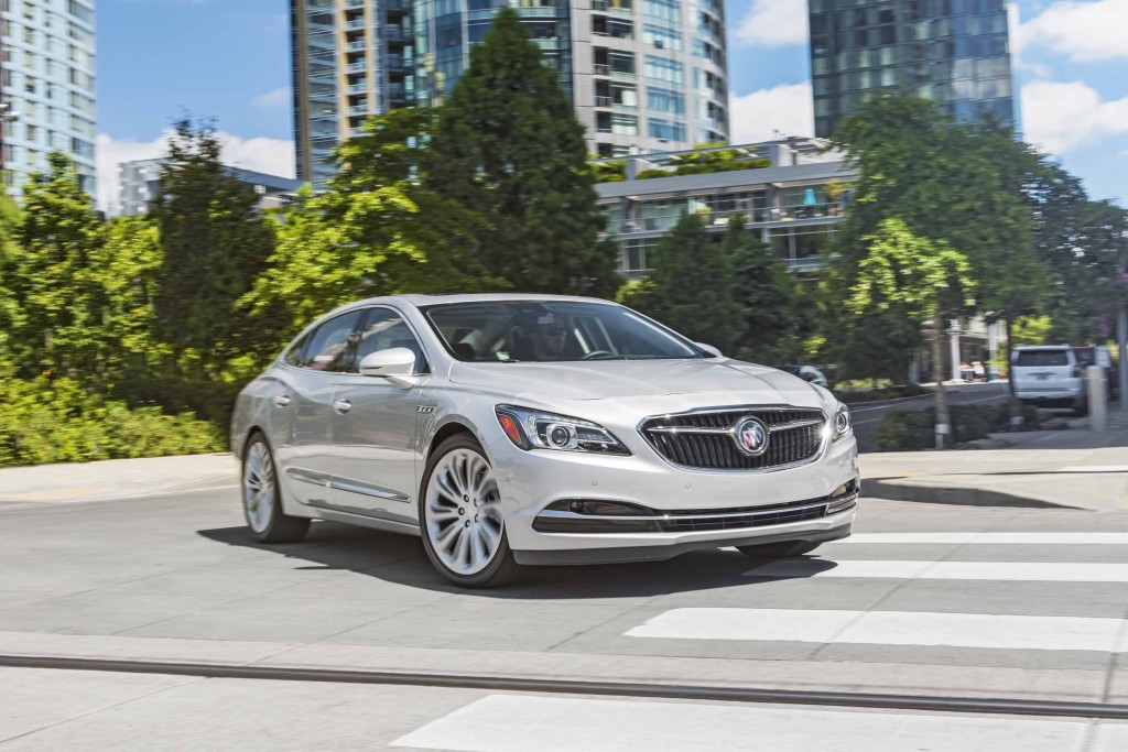 2017 Buick LaCrosse recalled to fix power steering glitch