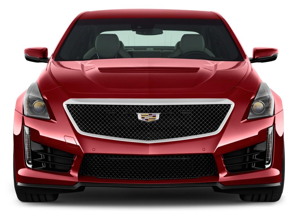 Image: 2017 Cadillac CTS-V 4-door Sedan Front Exterior ...